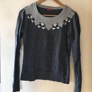 Merona grey sweater